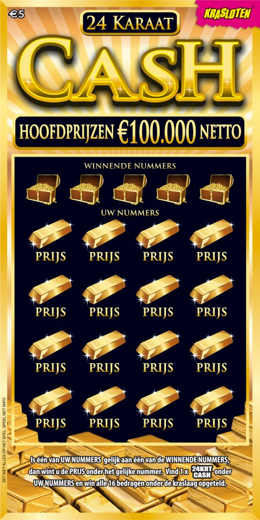 24 Karaat Cash kraslot