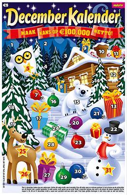 december kalender 2015 kraslot